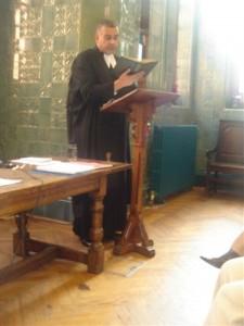 Rev. Brookes Service 2007