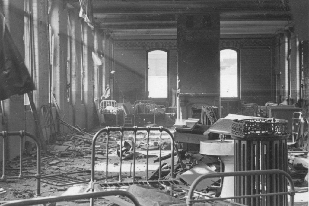 WARD 8 AFTER THE BLITZ